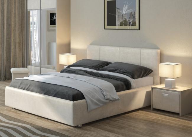 двуспальная кровать Como 3 комо 3 с боковым подъемным механизмом