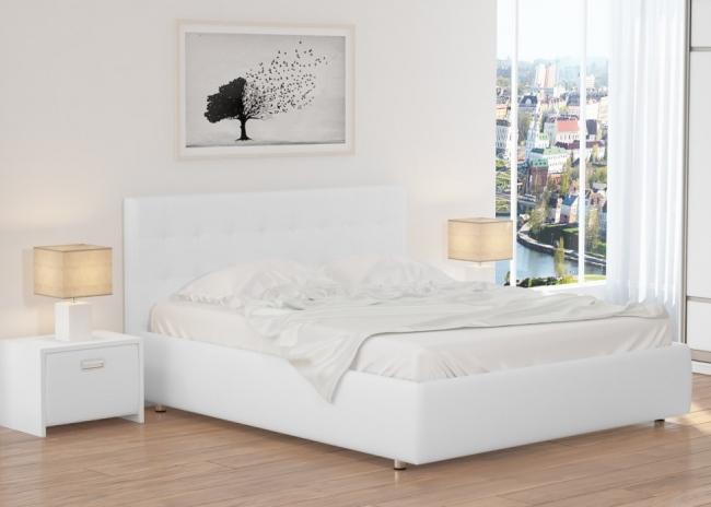 мягкая двуспальная кровать Como 1 комо 1 с подъемным механизмом