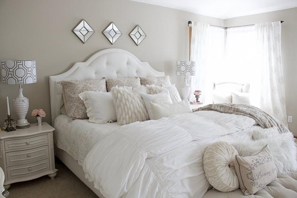 Белая кровать! Быть или не быть? 9 превосходных интерьеров!